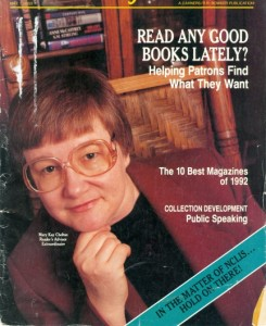Library Journal cover, 1993